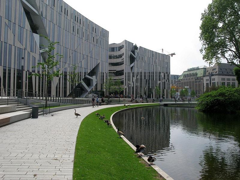 Parc Hofgarten, Düsseldorf