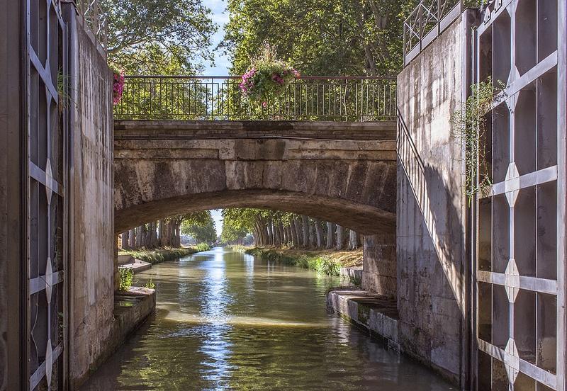 Canal du Midi, Homps