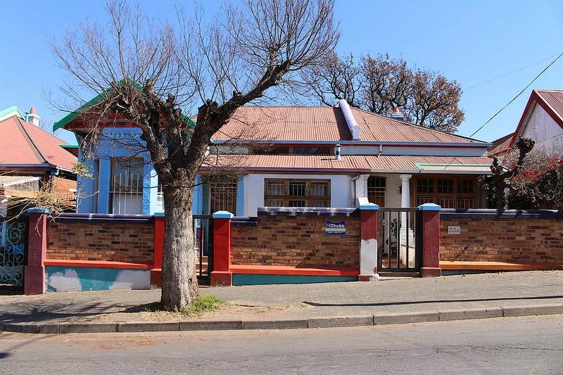 Maison à Jeppestown, Johannesburg