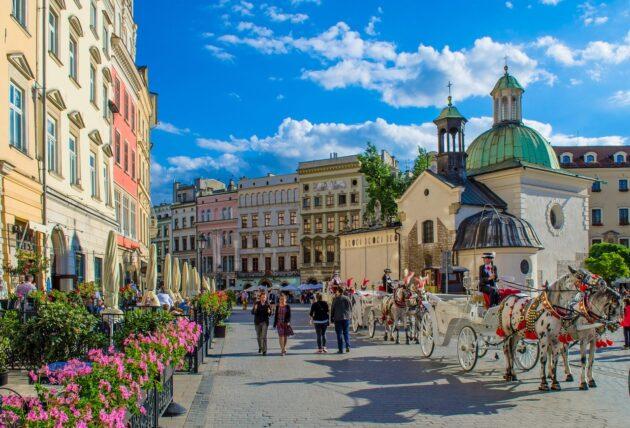 4 jours à Cracovie pour 132€/personne (Vols A/R + hôtel)