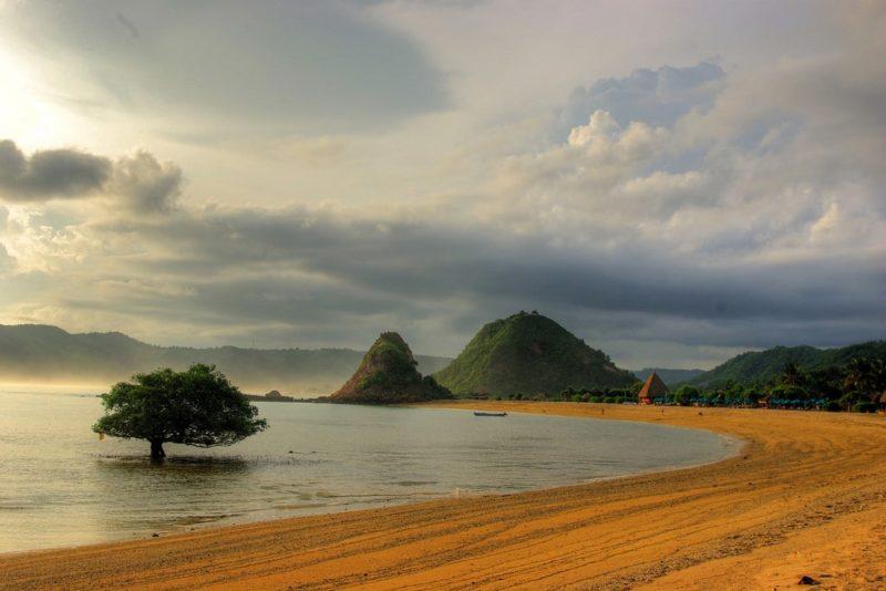 Plage de Kuta Lombok