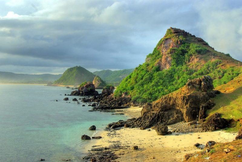 Plage de Kuta, Lombok