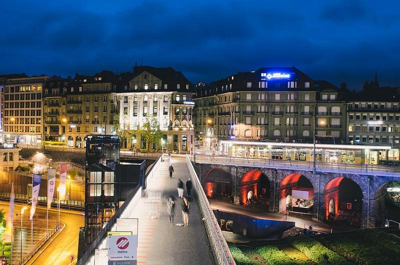 Esplanade du Flon, Lausanne