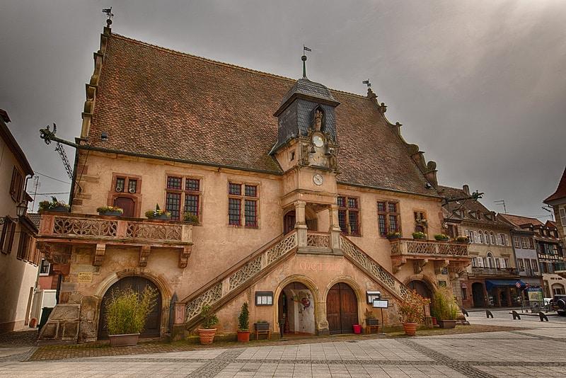 Molsheim, Metzig, Route des vins d'Alsace