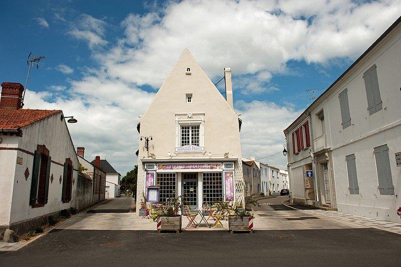 Noirmoutier-en-l'Île, centre du village