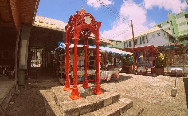 Vieux marché, Roseau