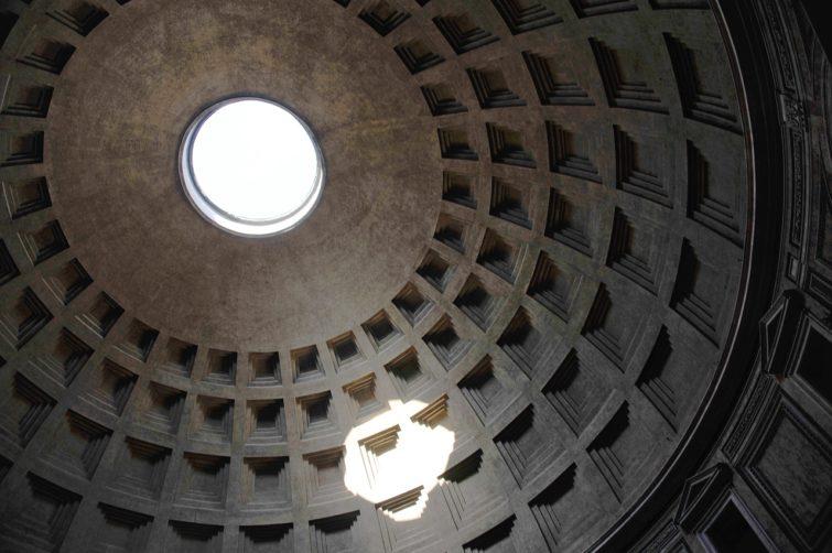 Coupole du Panthéon à Rome