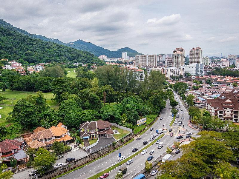 Vue de Penang Hill