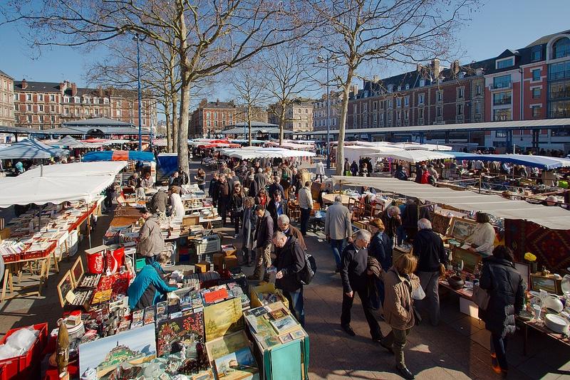 Marché de la Place Saint-Marc, Rouen