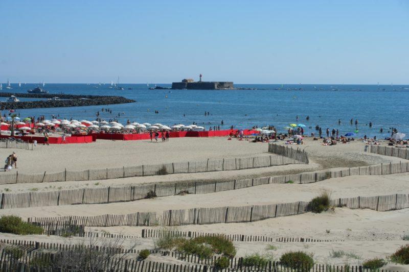 Plage Richelieu, Le Cap d'Agde