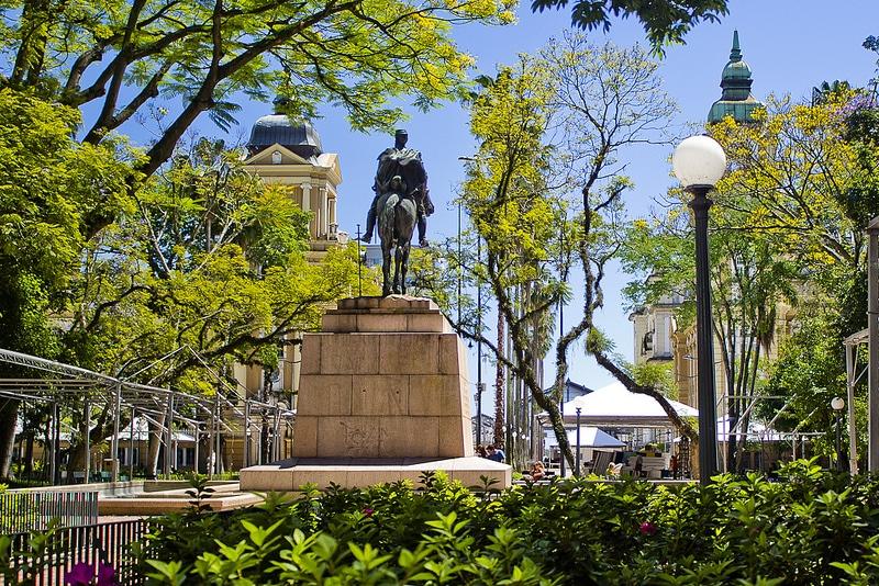 Centre-ville de Porto Alegre