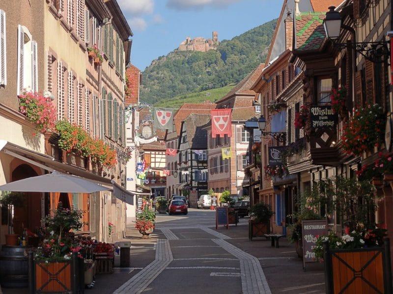 Grand Rue, Ribeauvillé, Route des Vins d'Alsace