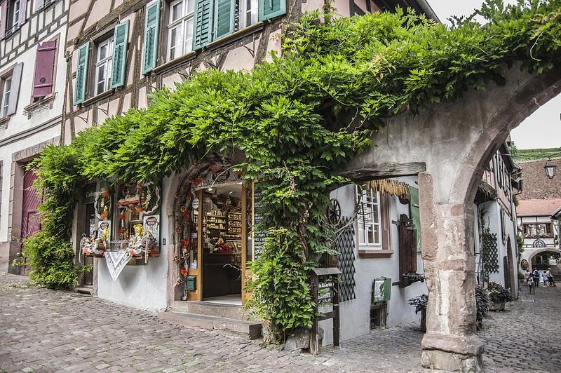 Riquewihr, Route des vins d'Alsace