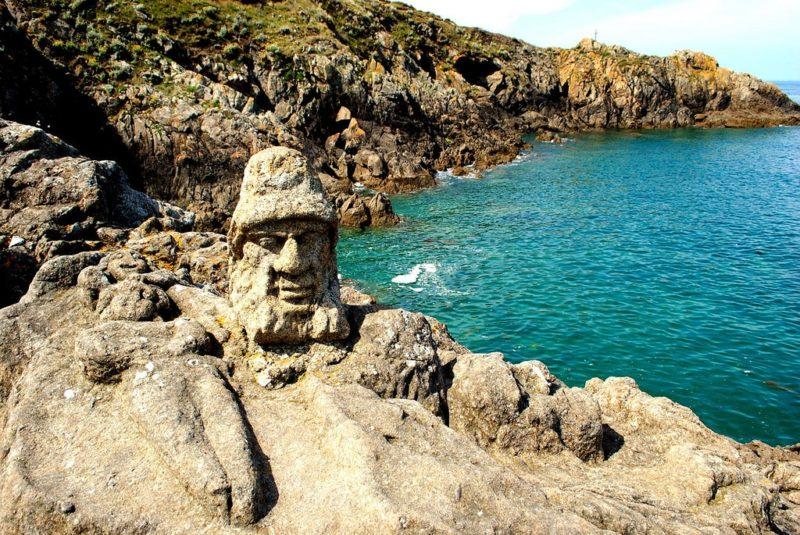 Roches sculptées, Rothéneuf, Saint Malo