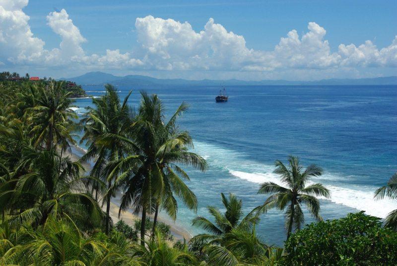 Plage de Senggig, Lombok