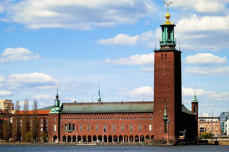 Tour de la Mairie, Hôtel de ville, Stockholm