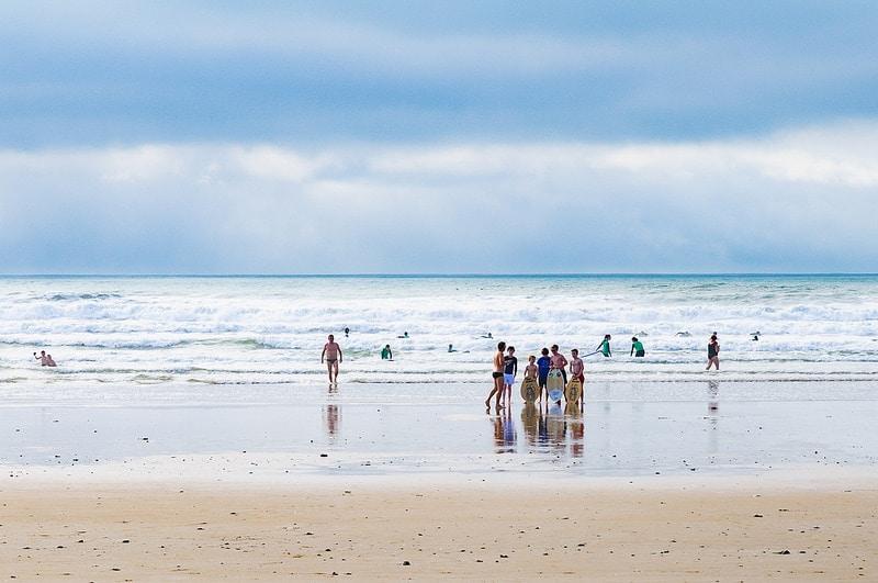 Surfer sur l'Île d'Oléron