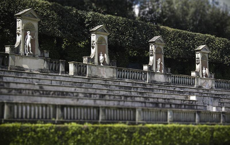 jardin de boboli amphitheatre