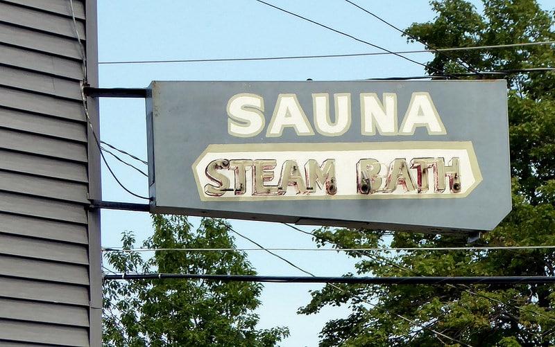 Pancarte sauna
