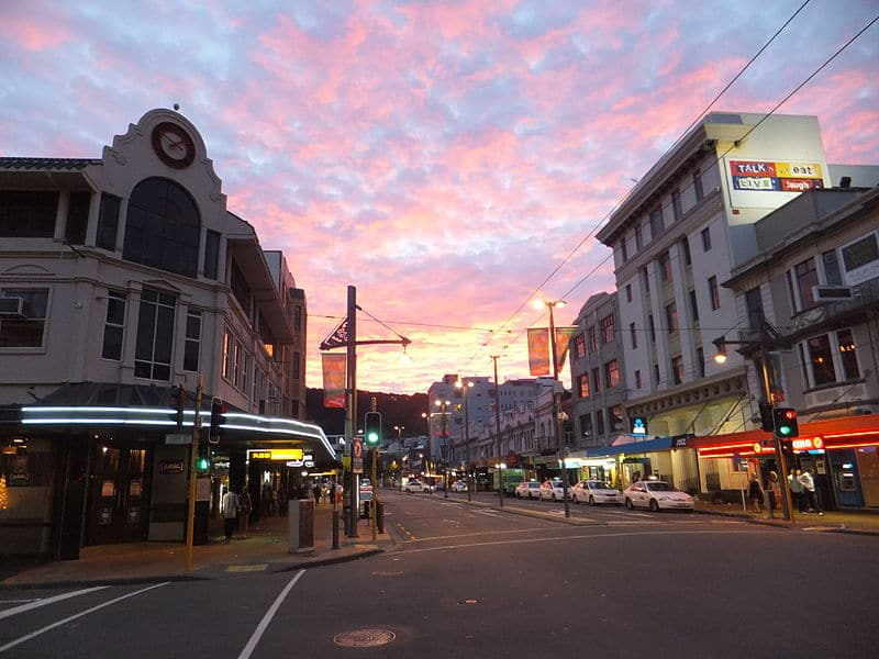 Courtenay Place, Wellington