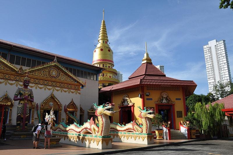 Temple Wat Chayamangkalaram, Penang