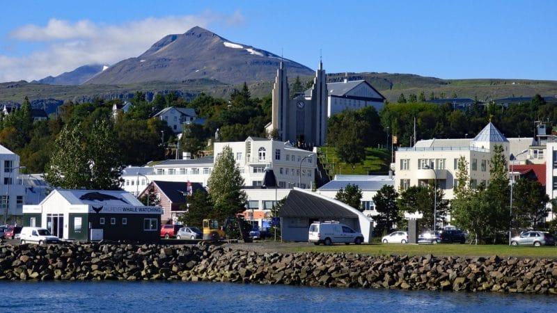 Loger à Akureyri, Islande