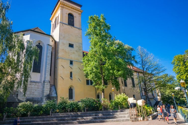 Annecy : La Cathédrale Saint-Pierre<