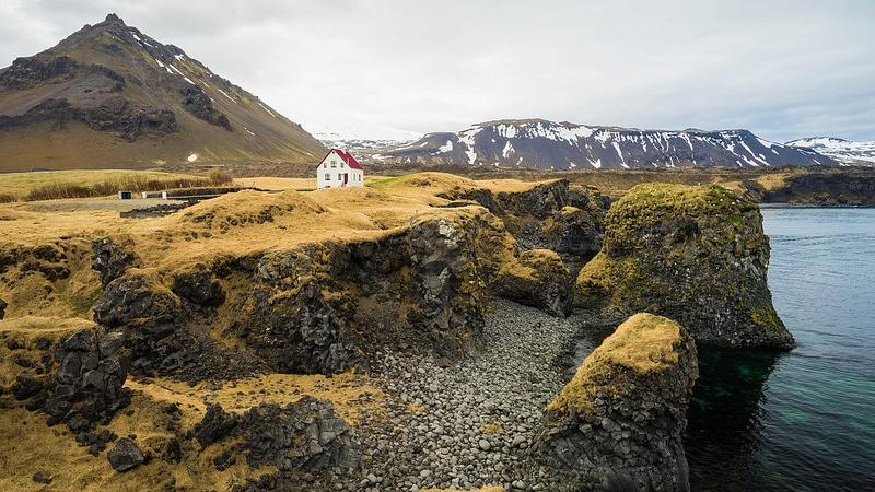 Loger à Hellnar ou Arnarstapi, Islande