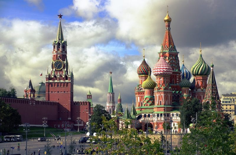Place Rouge, Cathédrale de Basile-le-Bienheureux, Moscou