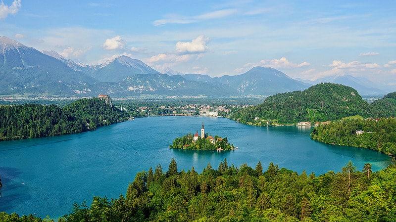 Lac de Bled, Ljubljana