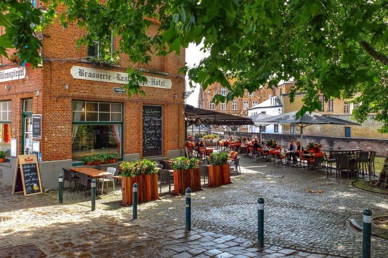 quartier ouest, Bruges