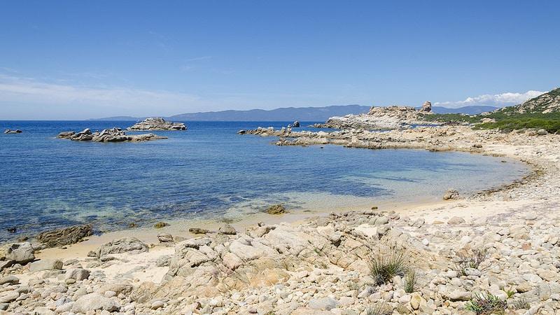 Plage de Campomoro, Corse