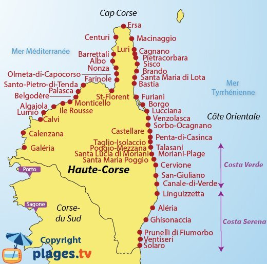 Les Plus Belles Plages De Corse Du Nord