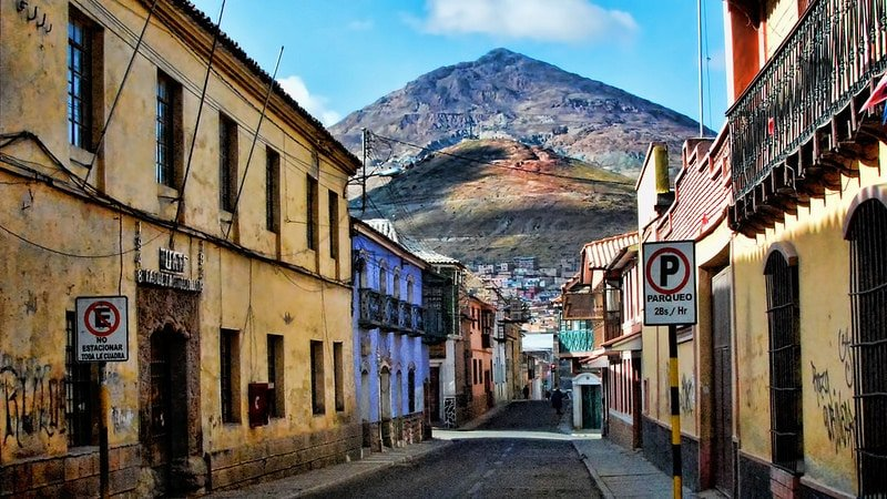 Vieille ville, Potosí