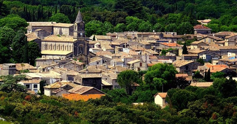 Village de Collias, Gard