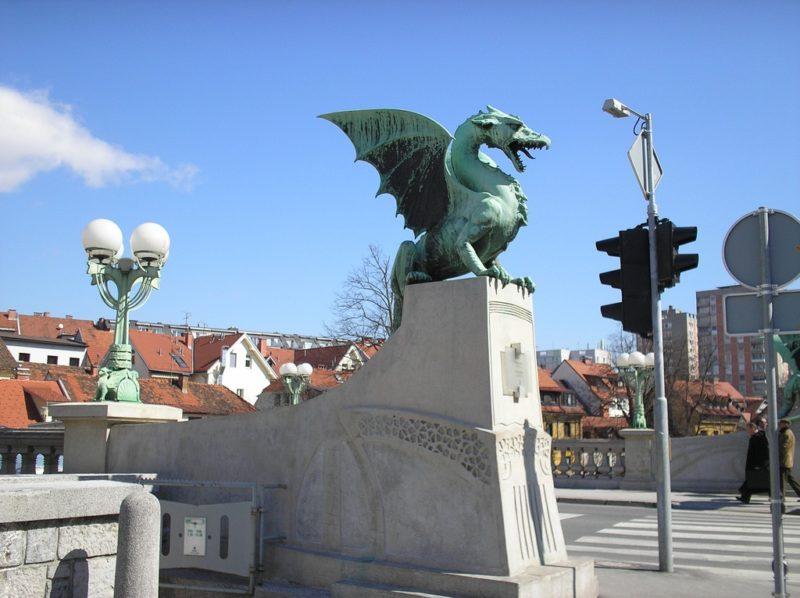 Pont des Dragons, Ljubljana