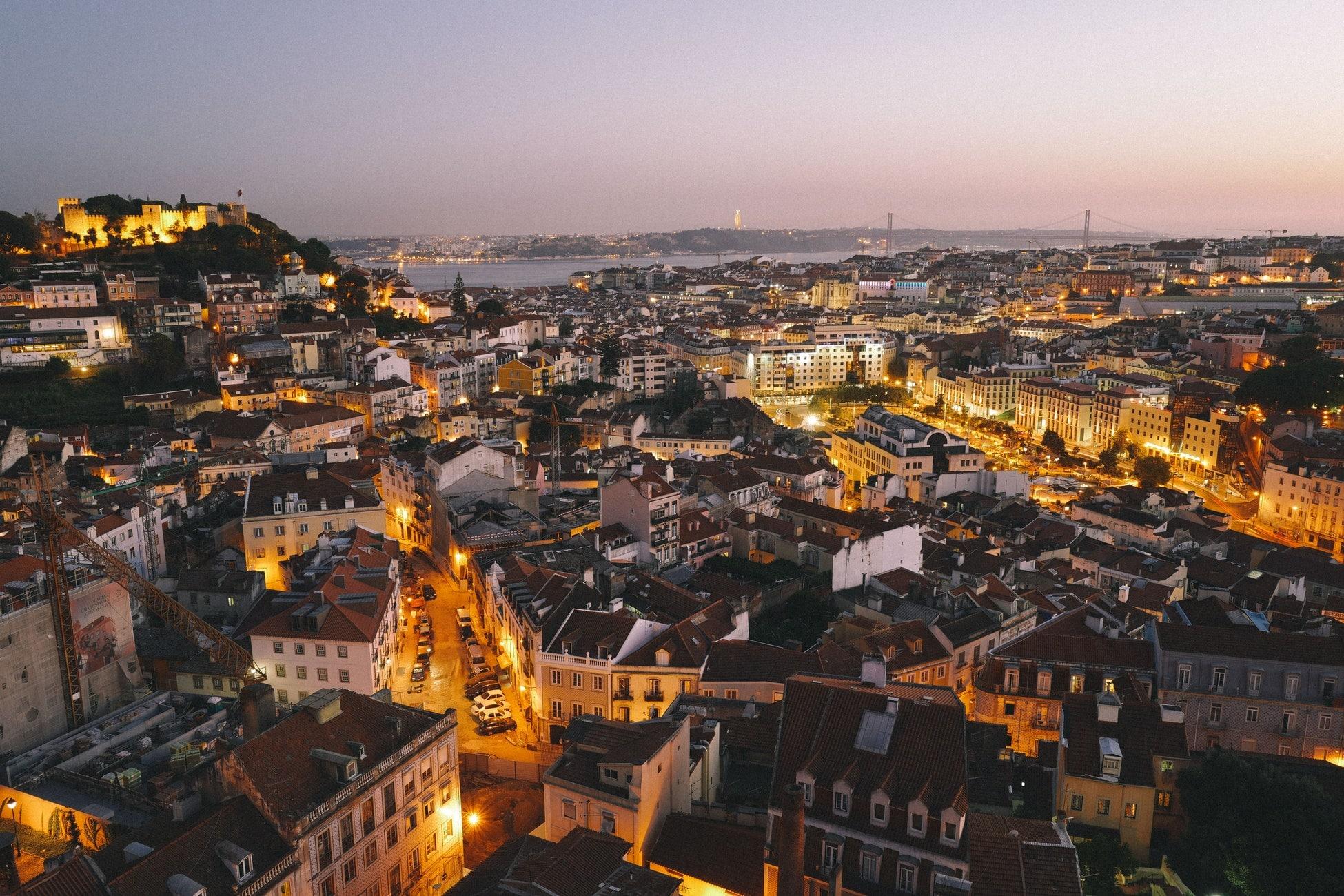Billets A/R vers Lisbonne à partir de 40€/personne !
