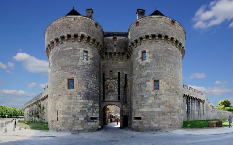 Porte Saint-Michel, accès à la vieille ville de Guérande