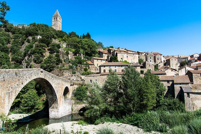 Olargues, Haut Languedoc