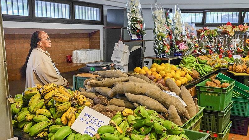 Marché de Nouméa, Nouvelle Calédonie