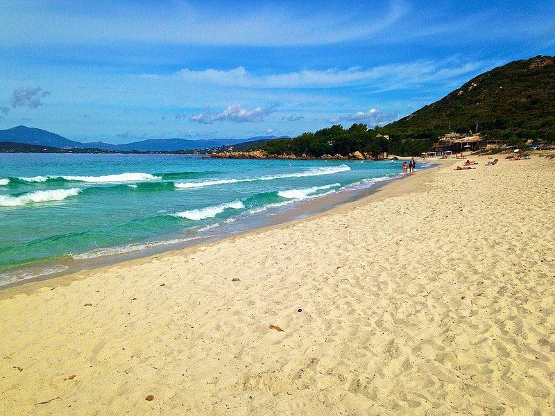 Plage Mare e Sole, Plage d'Argent, Corse