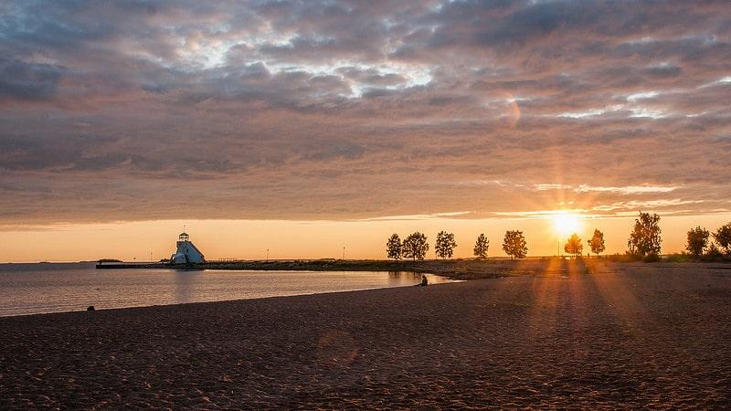 Nallikari beach, Hietasaari, Oulu