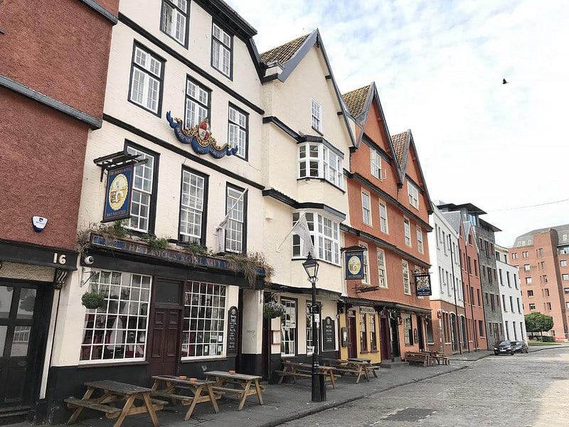 Bristol, Old City