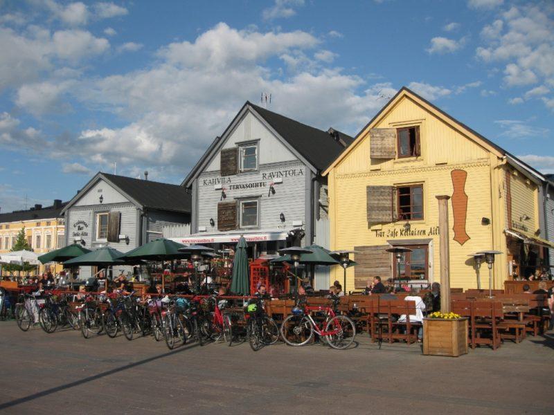 Place du marché, Oulu