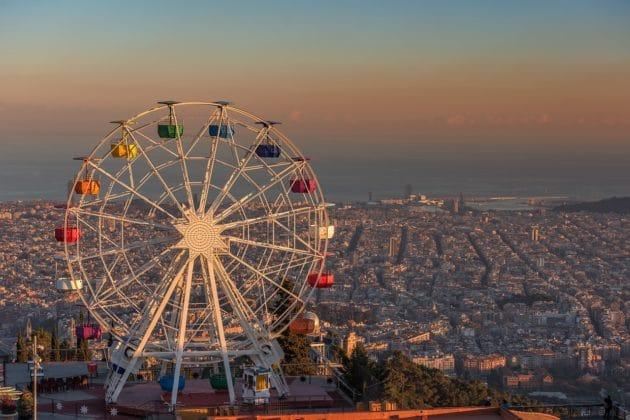 Visiter le parc Tibidabo à Barcelone : billets, tarifs, horaires