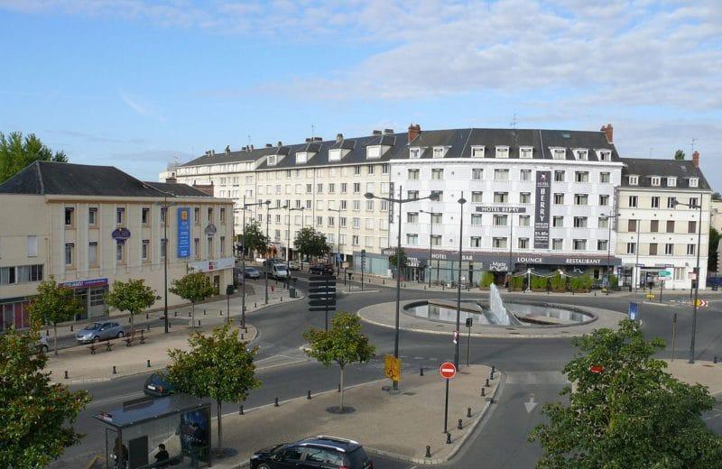 Place du Maréchal Leclerc, Bourges