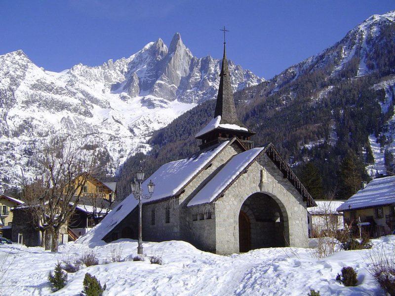 Eglise Les Praz-de-Chamonix