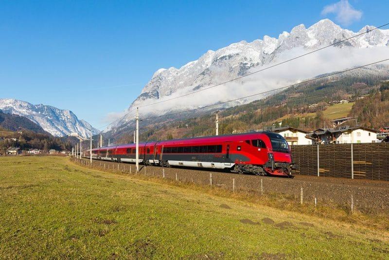 Transfert Aéroport Vienne, Railjet OBB
