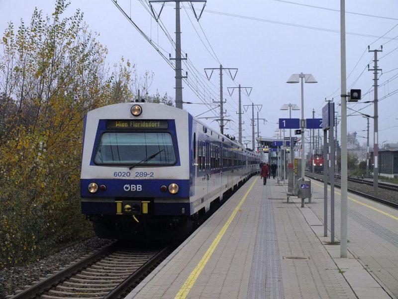 Transfert entre l'aéroport de Vienne : Train S7