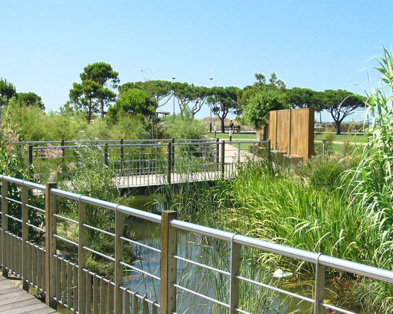 Parc Paysager Fernand-Braudel, Les Sablettes